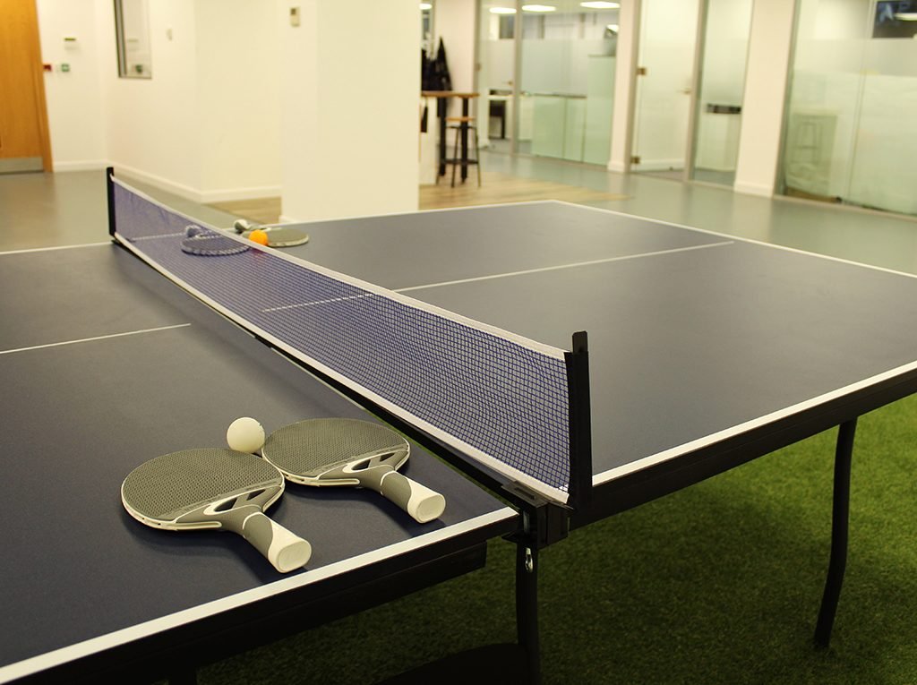 New Year, New Office, 2018, Office Space, Table Tennis