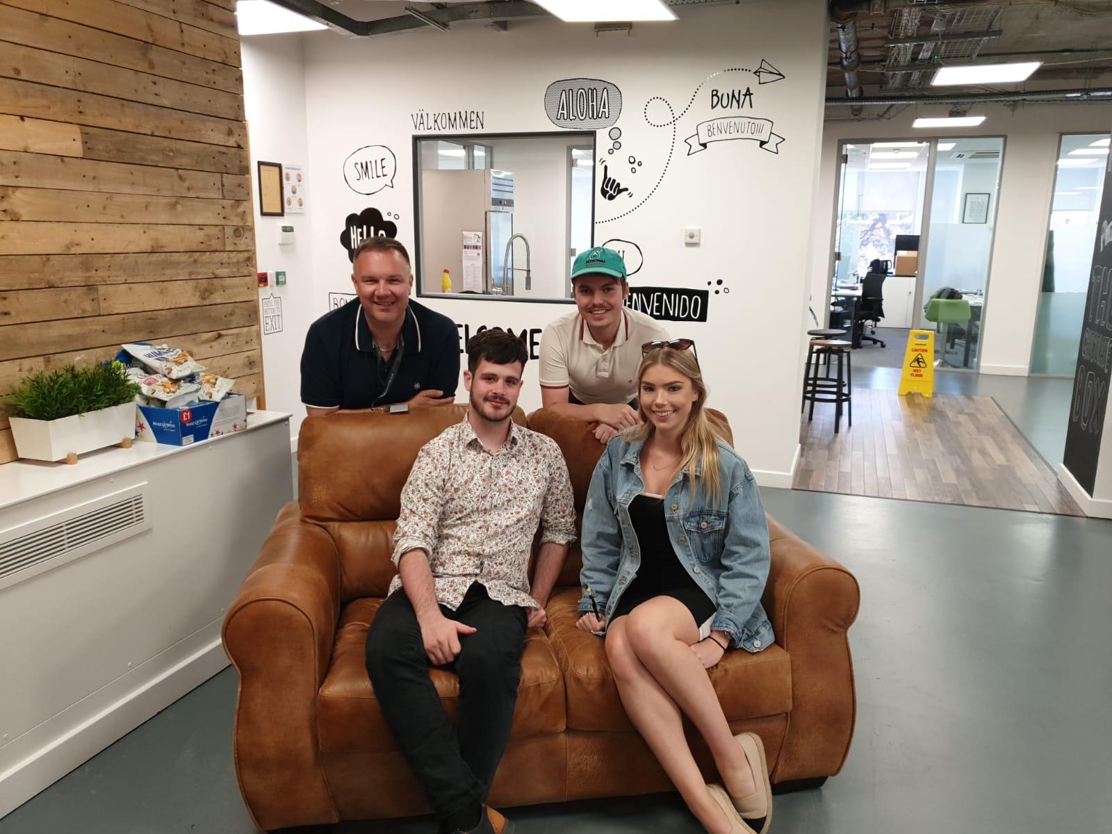 Fiona Carey, Matt Jenkins, Darren Northeast, Theo Meddelton
